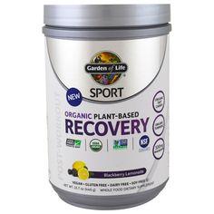 Garden of Life, Sport, Organic Plant-Based Recovery, Blackberry Lemonade, 15.7 oz (446 g)