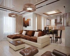 Wohnzimmer Einrichten Brauntne : Wohnzimmer in braun und beige einrichten wohnideen wohnen