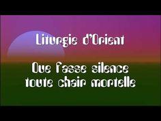 Que fasse silence toute chair mortelle - Liturgie byzantine Chant, Byzantine, Youtube