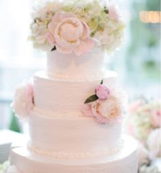 Spring or Garden Wedding cake