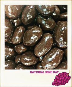 Do you treat everyday like #nationalwineday? Then you'll love our chocolate covered merlot raisins!  #gourmetchocolate #nycfoodie #chocolateraisins #kopperschocolate #instafoodie #winelovers #wineday #dessert #sweettooth #chocolatier #delish