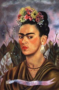 Frida Kahlo, Self-Portrait Dedicated to Dr Eloesser, 1940