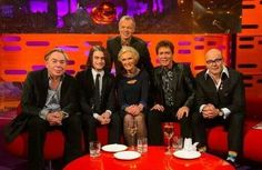 The Graham Norton Show, with guests Andrew Lloyd-Webber, Daniel Radcliffe, Mary Berry, Sir Cliff Richard and Harry Hill, airing Saturday, December 14 at 10/9c on BBC America.