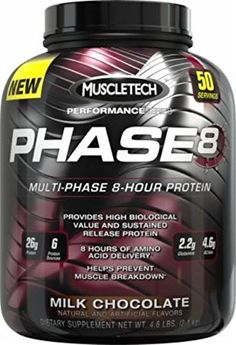 The Product MuscleTech 2.05 kg Milk Chocolate Performance Series Phase8 Powder  Can Be Found At - http://vitamins-minerals-supplements.co.uk/product/muscletech-2-05-kg-milk-chocolate-performance-series-phase8-powder/