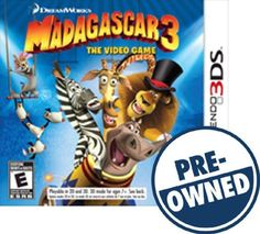 Madagascar 3: The Video Game — PRE-Owned - Nintendo 3DS