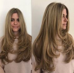 Haircuts For Long Hair With Layers, Haircuts Straight Hair, Haircut Short, Haircut In Layers, Oval Haircut, Long Layered Haircuts Straight, Haircut Styles, Oval Face Hairstyles, Trendy Hairstyles