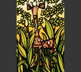Jungle Giraffe - Giraffe spotting | Heather Brown Art