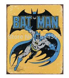 Hot Custom Art Cool Batman movie Classical Fashion Stylish Home Decor Retro High Quality Poster (50x76cm) Wall Sticker U1-309 $11.99
