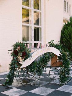 Wedding Bar Cart – Laura Hooper Calligraphy
