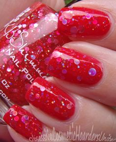 Obsessive Cosmetic Hoarders Unite!: KB Shimmer Fall Collection (Nail Polish Pictures & Review!)