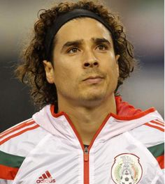 The man who denied Brazil. He was a beast in goal during that game. I'm not a Mexico fan but I am a fan of great goalkeeping. Mexico Team, Mexico Soccer, Sports Personality, Club America, Juventus Fc, Sports Stars, Goalkeeper, Soccer Players, Fifa