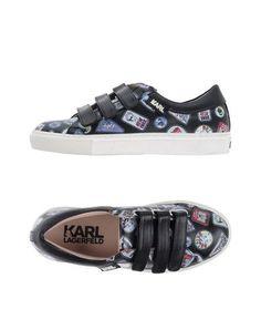 KARL LAGERFELD Low-tops. #karllagerfeld #shoes #низкие кеды и кроссовки