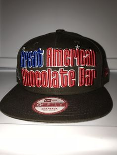 New Era the great American chocolate bar with Hershey s on the side snapback febd013dd9ba