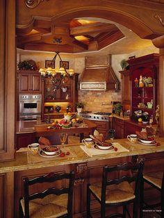 Mediterranean Kitchen Design,