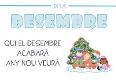 Dites mesos de l'any - Lila La - Álbumes web de Picasa Pre School, Word Search, Valencia, Google, School, Sayings, Calendar, Classroom, Note Cards