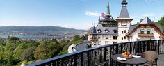The Dolder Grand - Zürich - Swiss Deluxe Hotels City Resort, Green Zone, Grand Hotel, Zurich, Stunning View, Switzerland, Facade, Spa, Relax