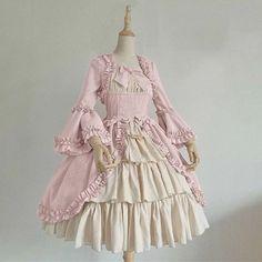 Women's Royal Gothic Vintage Medieval Mini Dress Skirt – narachic Vestidos Retro, Mini Vestidos, Court Dresses, Ball Gown Dresses, Medieval Dress, Party Rock, Vintage Gothic, Vintage Ladies, Dress With Bow