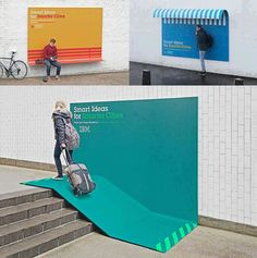 IBM - Smart Ideas for Smarter Cities Very interesting interactive ads