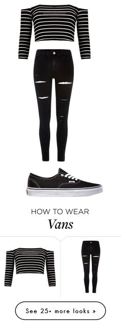 """""""Best Look Ever (to me)"""" by lizzyburke09 on Polyvore featuring Boohoo, River Island and Vans"""