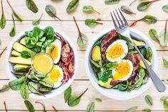Klidně si dopřejte i kousek slaniny, k vařeným vejcím, bramborám a hořčičnému dresinku se perfektně hodí; Tomáš Rubín