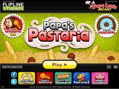 Papa's Pastaria Hacked Play at http://www.loola2015.com/loola-cooking/loola-papas-pastaria-hacked-2 You're in charge of Papa's newest restaurant, where you'll take orders, cook noodles, and add sauces and toppings to craft a perfect plate of pasta!	Join the team of Papa's Pastaria and cook the best noodles in the world to make your customers happy. you have to take orders, make various italian pasta food and serve those in time.