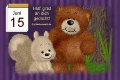 Juni, Tricks, Teddy Bear, Night, Animals, Day Of Year Calendar, Gif Pictures, Birthdays, February