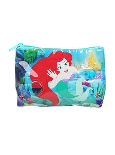 81f1fbb8618c Disney The Little Mermaid Bubbles Cosmetic Bag