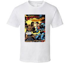 Superman Vs. Muhammad Ali Tee Greatest Fighter Champion RIP Legend T Shirt
