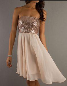 Sexy sleeveless Strapless dress