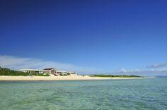 沖合いから望む『はいむるぶしビーチ』-haimurubushi beach