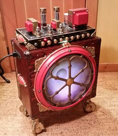 40/28 Watt guitar amplifier with lots of antique additions.