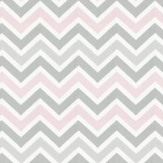 Pink and Gray Chevron Fabric for curtains!? #carouseldesigns