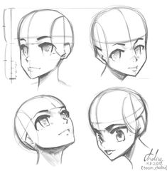 Apparently in anime the nose goes between the chin and the eyelids (and not the brows) team_chalise Drawing Skills, Drawing Tips, Drawing Reference, Drawing Ideas, Art Sketches, Art Drawings, Drawing Art, How To Draw Shadow, Glasses Sketch