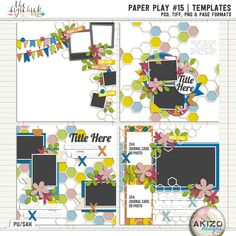 Paper Play #15 | Templates