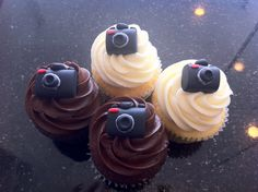 camera cupcake toppers - Google Search
