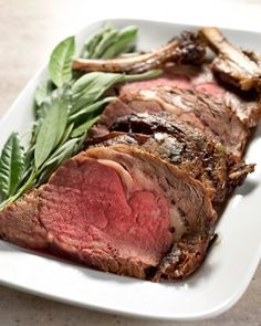 Prime Rib Roast by Martha Stewart