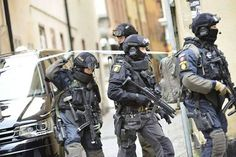 Swedish Police Force Unit. Military hobby blog: http://zimhangmen.tumblr.com/