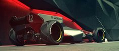 Using a mix of retro and futuristic design, this epic McLaren Formula 1 car concept looks brilliantly aggressive and needs to be turned into reality. Mclaren Formula 1, Formula 1 Car, Lamborghini Concept, World Of Tomorrow, Futuristic Design, Car Sketch, Cool Sketches, Car In The World, Transportation Design