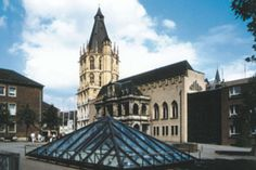 Köln Rathaus mit Mikwe