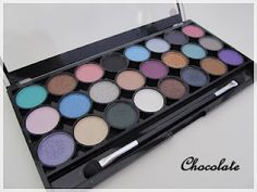 Choco's Pretty Things: MUA Shade Immaculate Collection Eyeshadow, Shades, Pretty, Beauty, Collection, Pallet, Eye Shadow, Beleza, Shutters