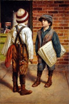 Talking Things Over  ...by Jim Daly            I remember seeing newsies on the street corners in St. Louis when I was young.