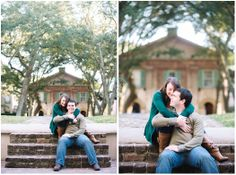 TRISTAN + NICOLE – A COLLEGE OF CHARLESTON ENGAGEMENT // Aaron and Jillian Photography - Charleston Wedding Photographer