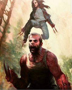 "38 次赞、 3 条评论 - juan negron (@beardedcomicbookgeek) 在 Instagram 发布:""#wolverine #oldmanlogan #logan #rage #anger #innerdemon #monster #x23 #xmen #xforce…"""