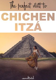 The ultimate itinerary to make of your visit to Chichen Itza and absolute epic adventure - Unknown tips for an epic time in visiting this wonder of the modern world - Travel Mexico by Chichen Itza Mexico, South America Travel, Buy Tickets, Mexico Travel, Central America, Travel Guides, Family Travel, Travel Inspiration, Tours