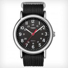 Timex Weekender™ Slip Thru sexy in an understated way. If you don't have much money and only one watch, this should be it