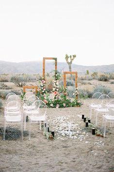 Trendy Bohemian Wedding Decorations ❤ bohemian wedding decorations outdoor ceremony with flowers and greenery acrylic chairs heather anderson photo #weddingforward #wedding #bride #bohowedding #bohemianweddingdecorations