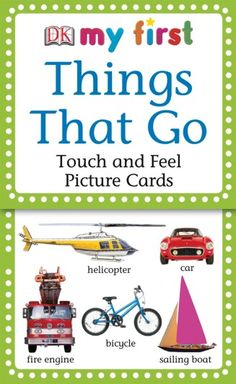DK Discovery Day ~ My First Things That Go, Touch & Feel Cards ~ GIVEAWAY!