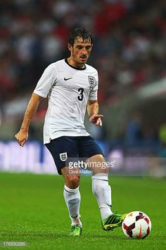 Leighton Baines of England controls the ball during the International Friendly match between England and Scotland at Wembley Stadium on August Leighton Baines, England Football, National Football Teams, Wembley Stadium, Football Photos, England And Scotland, English, Running, Keep Running