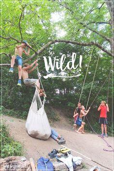 Lasst die Kinder spielen! Sei wild! #wildekinder #naturverbindung