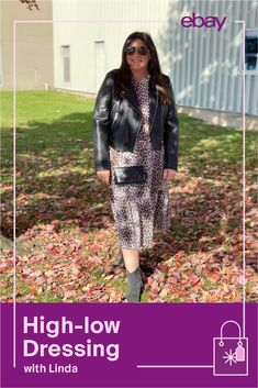 Fashionista Linda of Linda's Stuff loves high-low dressing and incorporates it into her every day. Here are her top three tips to pull off the look. 1. Pair your favorite denim with some designer sneakers. 2. Choose a quality leather jacket to wear with cotton basics. 3. Spend on a classic designer handbag and save on a trendy outfit. Score your next steal or splurge from Linda on eBay. #GiftIdeas #ChristmasGifts #Holidaygifts #90sfashion #80sfashion #70sfashion #Vintage 80s Fashion, Fashion Outfits, Trendy Outfits, High Low, Dressing, Leather Jacket, Pairs, Denim, Celebrities